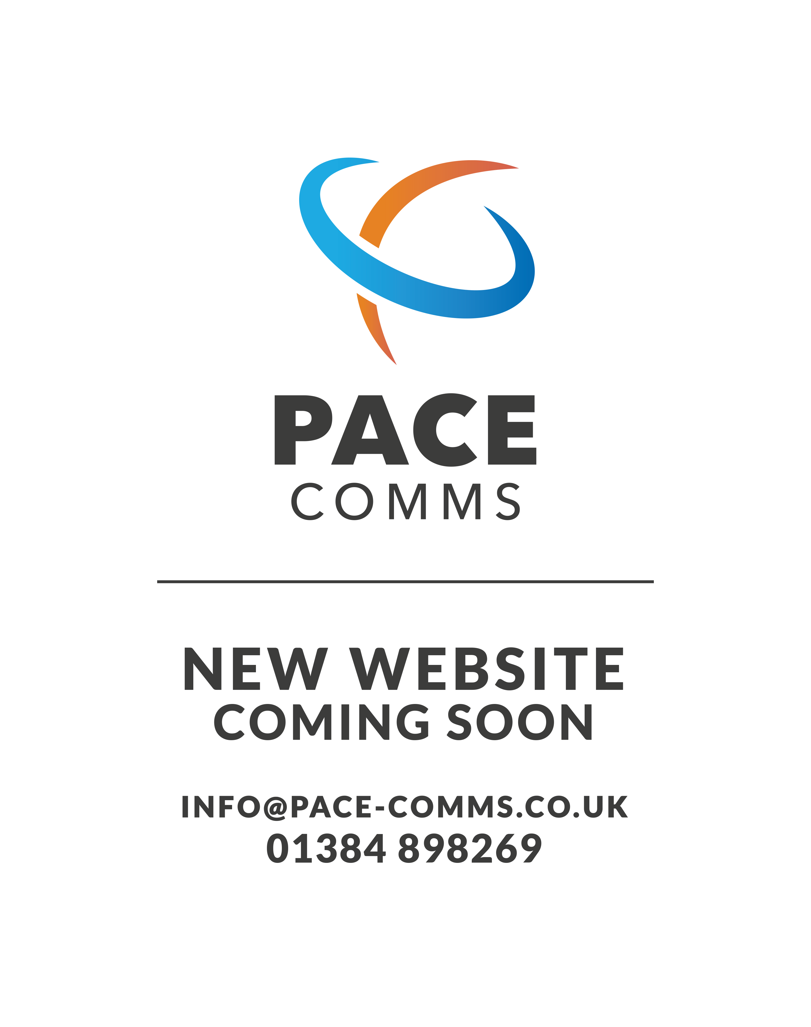 Pace Comms New Website Coming Soon